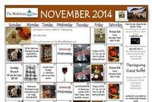 Wolfeboro Inn & Wolfe's Tavern Monthly Calendars / by The Wolfeboro Inn