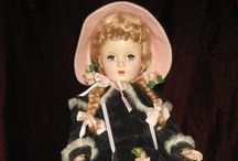 Vintage Madame Alexander Dolls / My Pinterest Collection / by Linda Levans