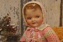 Vintage dolls / by Linda Levans