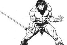 Conan / Dessins de la BD de Conan le barbare par Buscema / by moiiza