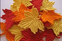 Knitted & crochet Leaves / by Tatiana