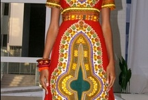 African Fashion / Love these creative, colourful and beautiful work of art. / by C Olugbala