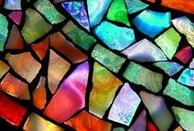The beauty of mosaic! / . / by Tatiana