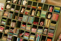 I dream of an organized sewing space / by Dorothy Thomas