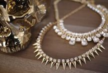 Spikes & Sparkle / Diamonds are a girl's best friend.  / by McKenzie Carlton