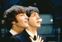 Beatles / #Beatles #Beatlesmania #John #Lennon #Yoko #Ono #JohnLennon #YokoOno #Fab4 #Paul #mccartney / by biot jef