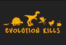 Evolution / #evolution #darwin #creationism #human #species / by biot jef