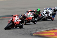 WBSK 2012: Aragon, Spain / All Italian victory in Race1 with Max Biaggi and podium in Race2 with Eugene Laverty in Spain for the Aprilia Racing Team / by Aprilia Official