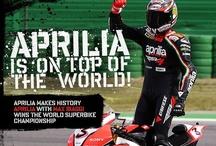WSBK 2012: Magny-Cours, France  / Aprilia is on top of the world!  Aprilia makes history. Aprilia with Max Biaggi wins the World Superbike Championship / by Aprilia Official