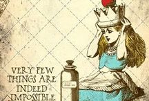 Alice / and if you go chasing rabbits... / by Knitadelica Funkypunkster
