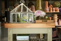Garden Studio  / The Garden Studio, with its original design as a garage, has now become a four season space to enjoy.  / by Mar Jennings