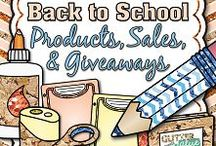 BACK TO SCHOOL TPT Teacher Products, Sales, & Giveaways - FIRST MONTH OF SCHOOL ONLY / Collaborative board for buyers and sellers of Back to School (Aug/Sept) TPT products. Please only post items that you are clearly marketing as items for Back to School. Halloween, Valentine's, Christmas, Thanksgiving, St. Patty's, etc. - these are all NOT back-to-school related and do not belong on this board. REPEAT OFFENDERS WILL BE DELETED. :-( #backtoschool / by Glitter Meets Glue Designs: Clipart for Teachers!