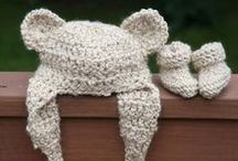 Knitting & Crochet projects for baby and mommy:) / by Lyudmyla Vayner
