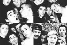 One Direction / Bradford Bad Boi, Leeyum, Swag Masta from Doncasta, Nialler, Hazza / by L Abbasi