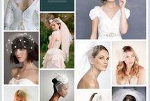 bridal headwear / by Angie Black