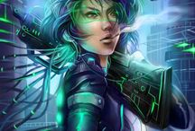 Ghost in the shell / by Alias