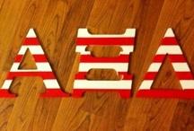 Letters / by MU Alpha Xi Delta