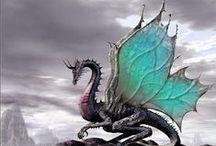 Dragones / Dragones en 3-D: figuras, esculturas, objetos cuyo tema son los dragones. Unos pocos dibujos. / by morsa (Sergio Morales T.)