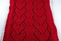 WomenHeart HeartScarves / Knitting patterns and ideas for creating scarves for the WomenHeart HeartScarves program, which provides cozy warm scarves to women undergoing treatment and surgery for heart disease. / by WomenHeart
