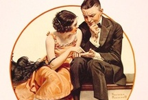 Norman Rockwell / Norman Percevel Rockwell was a 20th-century American painter and illustrator. His works enjoy a broad popular appeal in the United States for their reflection of American culture / by Zandra Conway