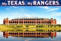 Rangers Roundup / My favorite MLB team, the Texas Rangers. / by Tiffany Thomas