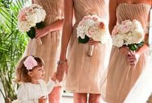 Beloved Bridesmaids / A brainstorming board for dresses, details, and day-of-dreams. / by Hilary Corbett