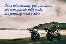 Pinspiration / Sometimes, the most unlikely quotes will get you inspired to do even the most likely of things. #Inspire #Inspiration #motorcycle #adventure #FirstGear / by FirstGear