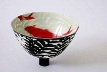 CRMX - bowls / ceramic bowl, ceramics, pottery, clay, porcelain, stoneware, kiln, high fire, low fire, glaze, cone 10, cone 6, cone 04, raku / by Annie Genstler-Gatward