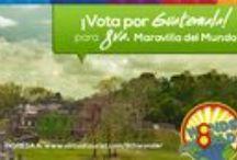 8th. Wonder / Guatemala está participando para ser la 8a. Maravilla, por favor ayúdanos con un voto diario entrando a http://www.virtualtourist.com/8thwonder y busca nuestro nominado Tikal, National Park. / by VisitGuatemala Heart Of The Mayan World