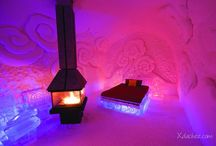 Ice Hotels / Photos of Ice hotels around the world / by Mochi Mochi