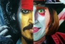 Many Faces of Johnny Depp / by Gisela Diaz