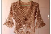 hekelhisterie ( bo en onder) / crochet tops and skirts / by jeanne de klerk