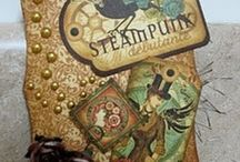 Card Making- Steam Punk Cards I Love / by Kerry Angel
