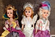 vintage dolls  / by Beckey Douglas