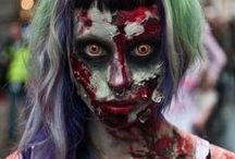 Halloween Costumes / Clever, creepy and cute costumes, special effects makeup and accessories / by Jade Heffner