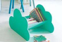 Mobiliario y decoración biblioteca / by Plan de lectura Summa Aldapeta