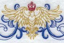 Machine Embroidery Tudor, Elizabethan, Renaissance -ish / by Anne de Pisseleu d'Heilly
