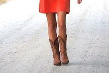 Chic Western Style Out of the Saddle / These glam western styles are great for formal dinners and barn dance if you want to get a little more dressed up when you're out of the saddle / by Vista Verde Ranch