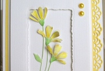 CARDS - FLORAL YELLOW / by Elizabeth Chacich