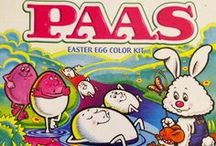 Vintage PAAS Egg Decorating Kits #TBT / A walk down memory lane with some of PAAS' vintage kits. #Throwback / by PAAS