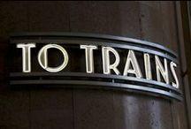 Trains / by Georges van Aalst