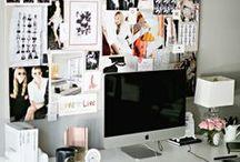 Office Desk / Plan de travail et organisation / by Clothilde Fédou