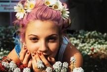 Pink Hair  / Pink hair inspiration from Jodell's board + more. http://pinterest.com/jodellegbert/i-love-pink-hair/ / by Bella Umbrella