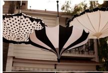 Black & White Wedding / by Bella Umbrella