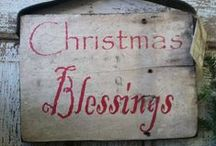 Christmas - Simple & Early Inspired / ~*May all your Christmas dreams come true / by Suze : Blacktavernprimitives