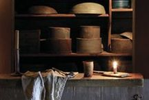Butt`ry & Pantry  - Goods & Wares / Every home needs a Buttery or a Pantry- small or large ! A place to store and display your collected Homesteading Goods / by Suze : Blacktavernprimitives