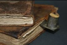 Early Books & Wares / Tattered & Torn early books.... love them / by Suze : Blacktavernprimitives