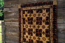 Quilts / For Patty- lots of inspiration ! / by Suze : Blacktavernprimitives