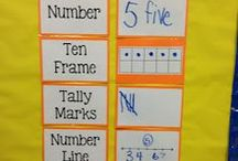 Number Sense & Counting / by Early Childhood Education-NEISD
