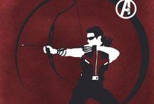 Hawkeye / by Clint Westwood